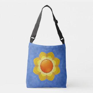 Sunny Day Vintage Kaleidoscope  Cross Body Bag