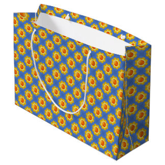 Sunny Day  Vintage Kaleidoscope  Gift Bags