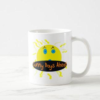 sunny days ahead coffee mugs