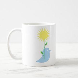 Sunny days basic white mug