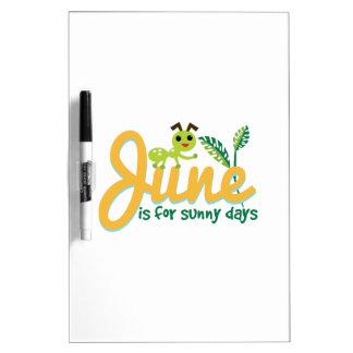 Sunny Days Dry Erase Whiteboard