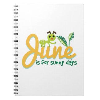 Sunny Days Note Books