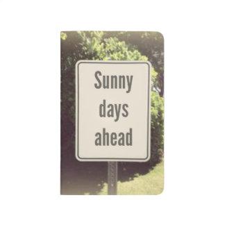 Sunny Days Pocket Journal