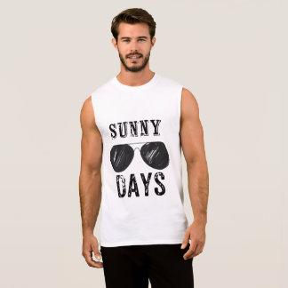 Sunny Days sleeveless tshirt