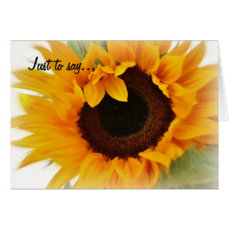 Sunny eyes. greeting card