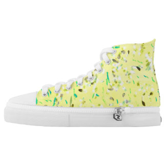 Sunny Flight High Tops Printed Shoes
