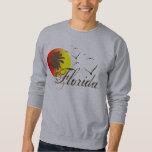 Sunny Florida Beaches Sunset Pull Over Sweatshirts