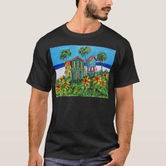 Sunny Flower Beach T-Shirt