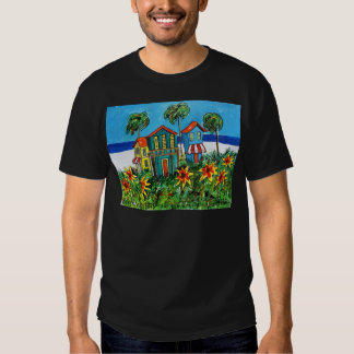 Sunny Flower Beach Tshirt
