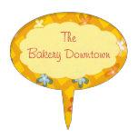 Sunny Flower Trellis Cake Pick for Bakery Business