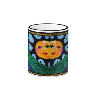 sunny hugs ringer mug