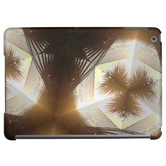 Sunny Kaleidoscope Palm Tree iPad Shell