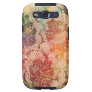 Sunny Lace Roses Galaxy SIII Case