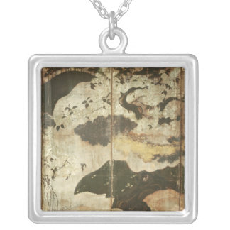Sunny Landscape Silver Plated Necklace