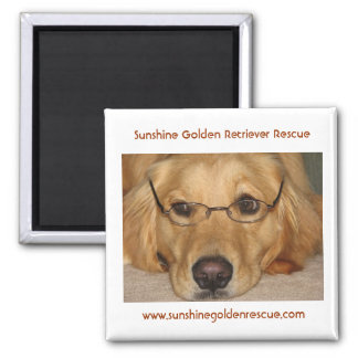 Sunny Magnet - Sunshine Golden Retriever Rescue...