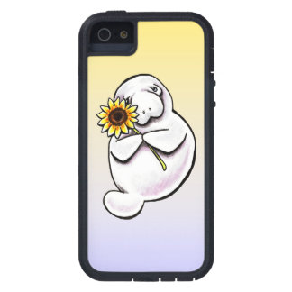 Sunny Manatee Off-Leash Art™ iPhone 5 Cases