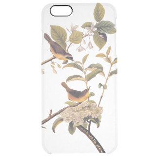 Sunny Maryland Yellowthroat Audubon Bird Pair Clear iPhone 6 Plus Case