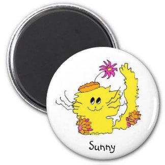Sunny mood magnet