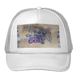 Sunny Morning Blueberries Kitchen Cooking Foods Trucker Hat