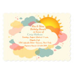 Sunny Morning Invitation 13 Cm X 18 Cm Invitation Card