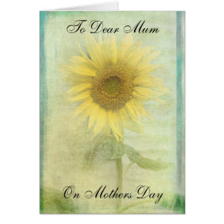 SUNNY MOTHERS DAY CARD