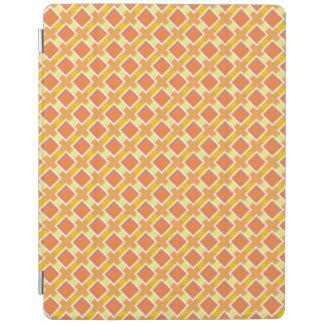 Sunny orange background retro iPad cover