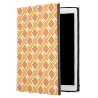 "Sunny orange background retro iPad pro 12.9"" case"