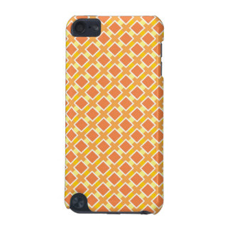Sunny orange background retro iPod touch 5G case