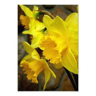 Sunny Petals 9 Cm X 13 Cm Invitation Card