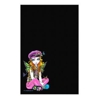 Sunny Rainbow Fairy Get Pen Stationery