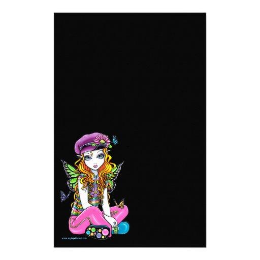 """""""Sunny"""" Rainbow Fairy Get Pen Stationery"""