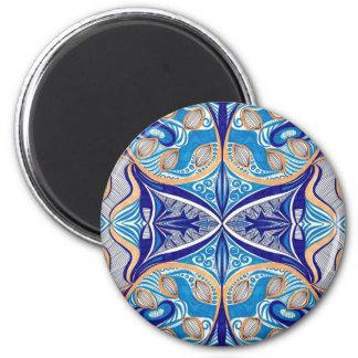 Sunny River 6 Cm Round Magnet