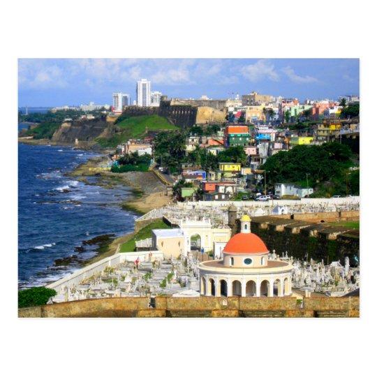 Sunny San Juan Puerto Rico Postcard