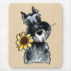 Sunny Schnauzer Classic Mouse Mat