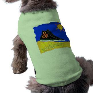 """Sunny Shoe"" by Katie winner 08.03.09 Sleeveless Dog Shirt"