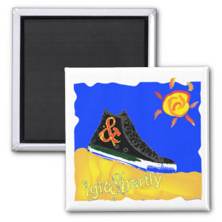 """Sunny Shoe"" by Katie winner 08.03.09 Square Magnet"