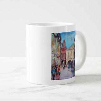 Sunny Side Prague Large Coffee Mug