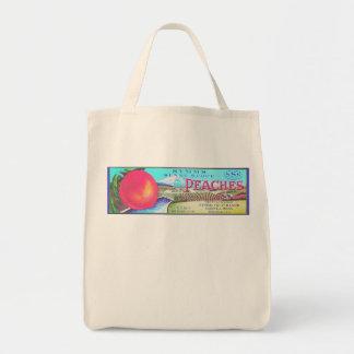 SUNNY SLOPE PEACHES BAG