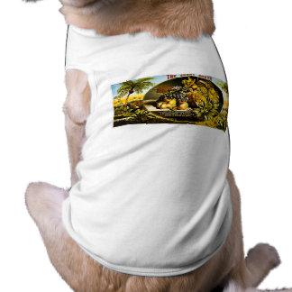 Sunny South 1874 Vintage Cigar Label Sleeveless Dog Shirt