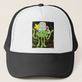 Sunny Star, Jellyfish and Turtle Friends Trucker Hat