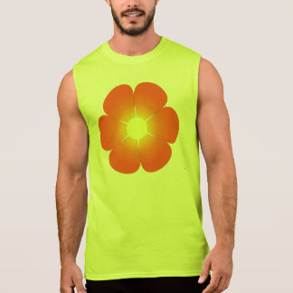Sunny Summer Flower Sleeveless Shirt