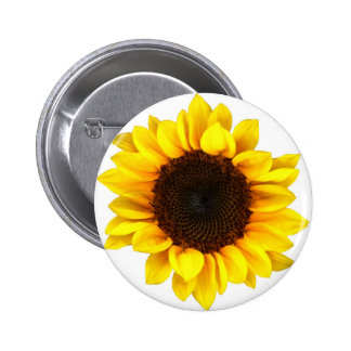 Sunny Sunflower 6 Cm Round Badge