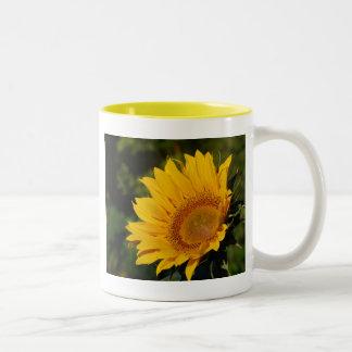 Sunny sunflower and meaning coffee mug
