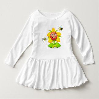 Sunny sunflower dress