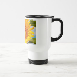 Sunny Sunflower Travel Mug