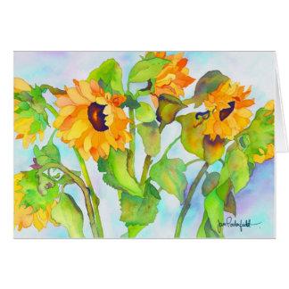 Sunny Sunflowers Card