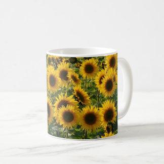 Sunny Sunflowers Field Mug