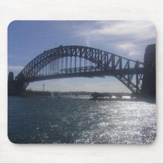 sunny sydney bridge mousepad