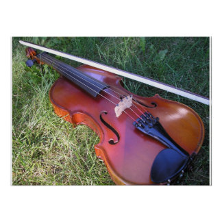 Sunny Violin Poster