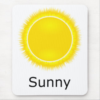 Sunny Weather Mouse Pad